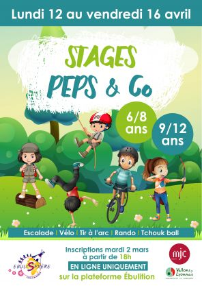 Stages Peps & Co / Annulé