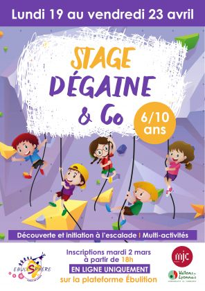 Stage Dégaine & Co / Annulé